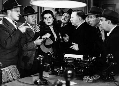 the feminine identity of hildy johnson Romance and career collide when ace news reporter hildy johnson this was the film that established rosalind russell's screen identity as his girl friday.