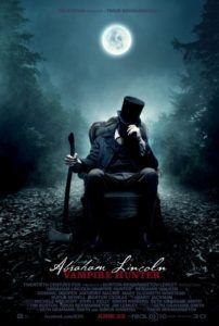 abraham lincoln vampire hunter poster