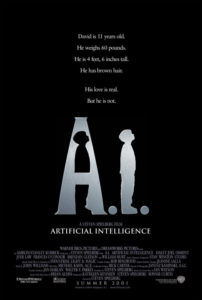 a.i. artificial intelligence movie poster