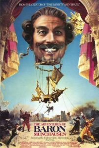 adventures of baron munchausen movie poster