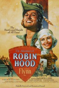 adventures of robin hood movie poster