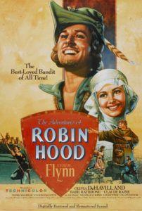 adventures of robin hood movie poster