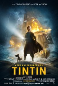 adventures of tintin movie poster