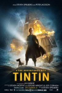 adventures of tintin movie poster