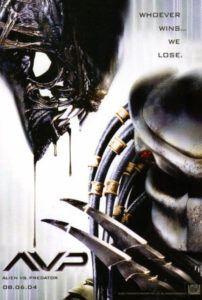 alien vs predator movie poster
