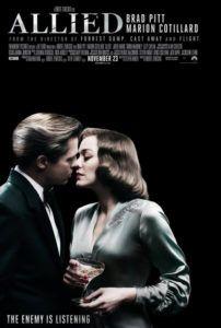 allied movie poster