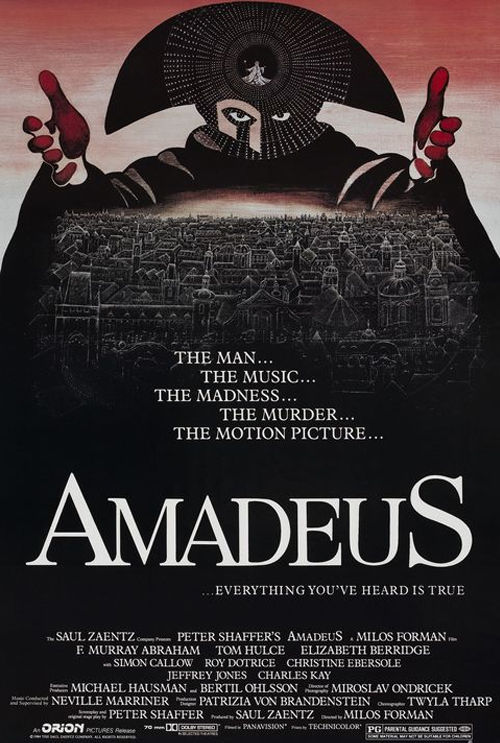 an analysis of the film amadeus by peter shaffer