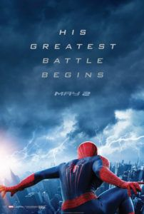 amazing spider-man 2 movie poster