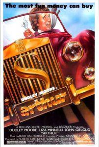 arthur 1981 movie poster