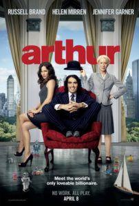 arthur 2011 movie poster