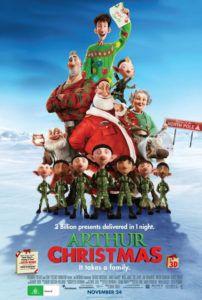 arthur christmas movie poster