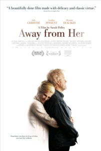 away from her movie poster