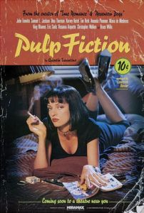 pulp fiction deep focus review movie reviews critical  quentin tarantino s dialogue provides the basis for the most unforgettable moments in pulp fiction even amid scenes depicting an accidental gunshot to the