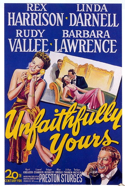 Unfaithfully Yours (1948) – Deep Focus Review – Movie Reviews, Critical  Essays, and Film Analysis
