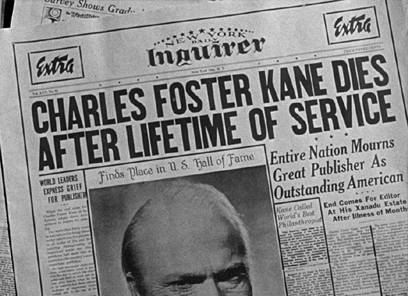 citizen kane film analysis essay Through what is alleged to be one of the best films, a series of anecdotes reveal the story behind charles foster kane the story, along with .