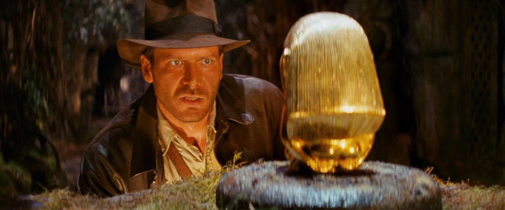 Raiders of the Lost Ark title image