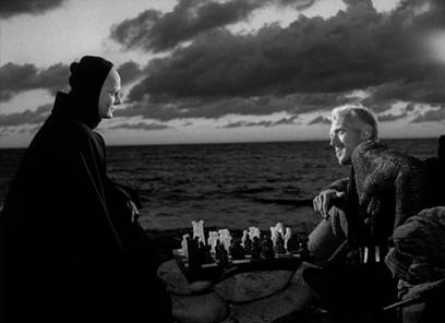 existentialism in the seventh seal essay Today a snazzed-up new special edition of ingmar bergman's the seventh seal comes out in a standard-definition dvd, and even more exciting (for me, at least) indeed, the new criterion edition contains an also-new essay by the estimable gary giddins titled send in the clowns (trebly clever, that.