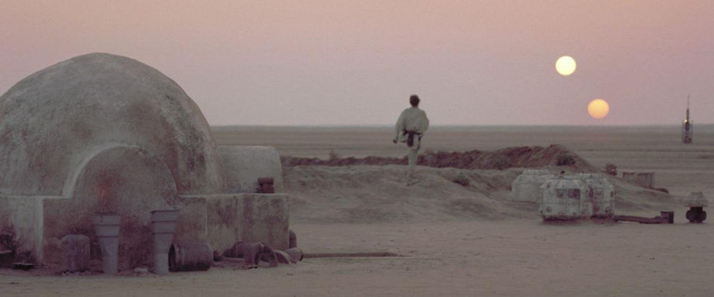 Star Wars Episode IV: A New Hope title image