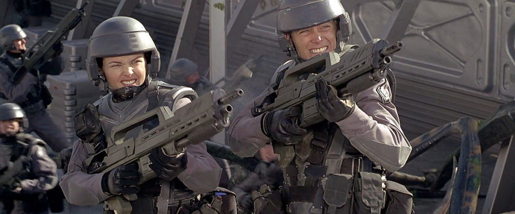Starship Troopers title image