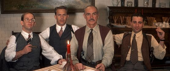 an analysis of the untouchables As to that question regarding the convergence of such outstanding talent in the untouchables, the movie which is the specific interest here, sean connery, brian de.