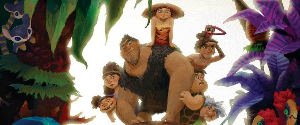 The Art of The Croods title image