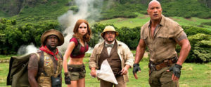 Jumanji: Welcome to the Jungle title image
