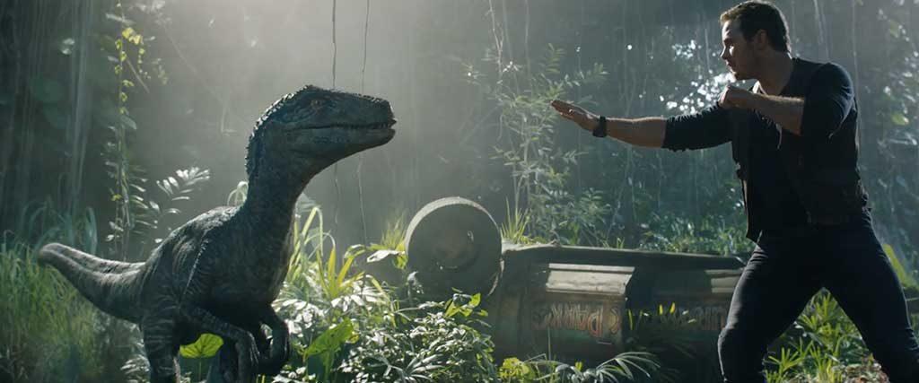 Jurassic World: Fallen Kingdom title image