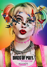 Birds of Prey, and the Fantabulous Emancipation of One Harley Quinn poster
