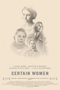 Certain Women poster