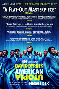 David Bryne's American Utopia poster