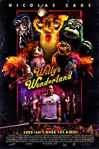Willy's Wonderland poster